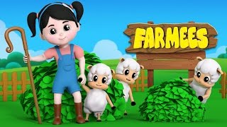 little bo peep lost her sheep | nursery rhyme | kids songs playlist by farmees S02E19