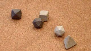 Лепим правильные многогранники из глины