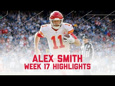 Alex Smith's 3 TD Day!   Chiefs vs. Chargers   NFL Week 17 Player Highlights
