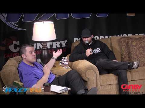 Brantley Gilbert Q&A Session at WXCY