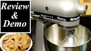 KitchenAid Classic Plus Stand Mixer Review and Demo