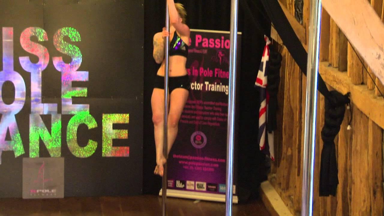 Miss Pole Dance UK Amateur Winner 2014 Christine Feekery