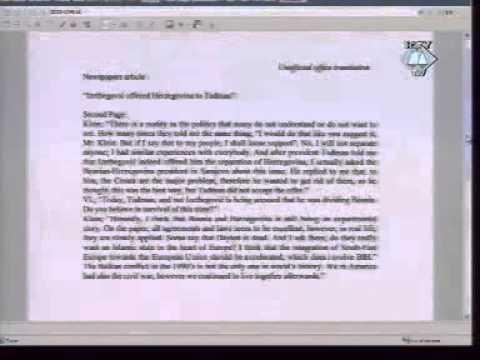 Izetbegović američkom generalu Jacques Paul Kleinu POTVRDIO da je Tuđmanu nudio Hercegovinu
