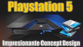 Playstation 5 - IMPRESIONANTE - Concept Design