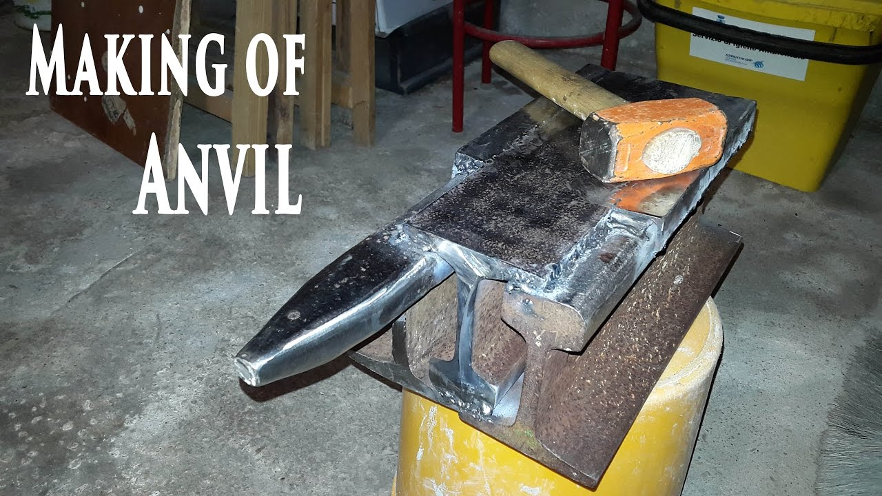 Making an Anvil from a Railroad Track