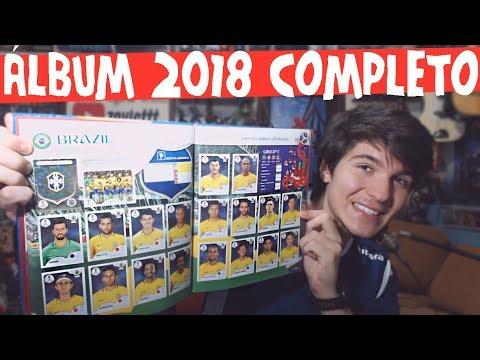 Demonstrando ÁLBUM COPA 2018 RÚSSIA COMPLETO [Capa Dura] Português Br