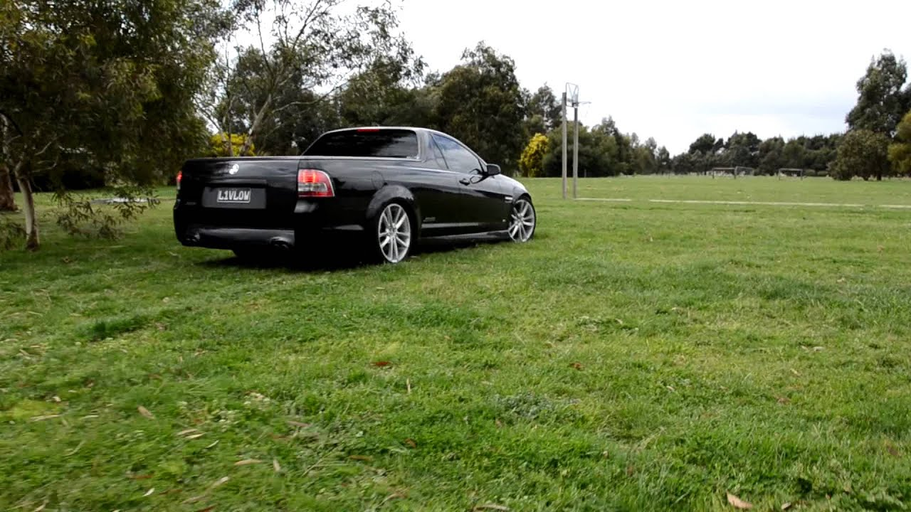 Air Bagged Ve Ss Ute L1vlow Youtube