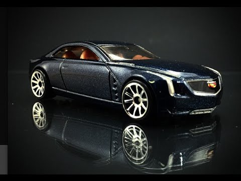 Hot Wheels Cadillac Elmiraj New for 2015 60 Second Review ...