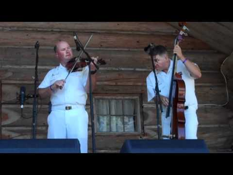 Pat White U S Navy Bluegrass Band Country Current  HOT Fiddling !