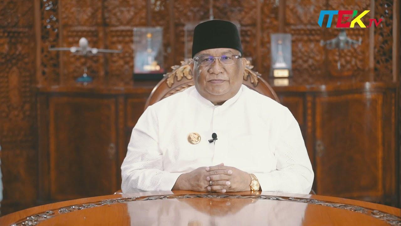 Ucapan Selamat menunaikan ibadah Puasa Ramadhan 1442 H Oleh Gubernur Sulawesi Tenggara.