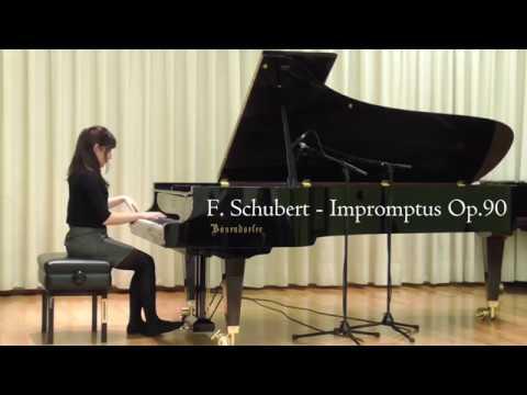 F. Schubert - Impromptus Op.90 D.899 - Gülce Sevgen