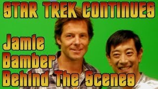 Star Trek Continues - Behind The Scenes - Jamie Bamber