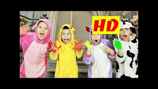 BOSS Kids Funny BaBy Go Home And Egg Surprise - Learning Color With SLIME For Kids & Children HD 20