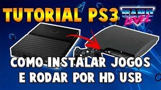TUTORIAL PS3 -  COMO INSTALAR O MULTIMAN E JOGOS NO HD EXTERNO E JOGAR VIA USB NO PS3 DESBLOQUEADO