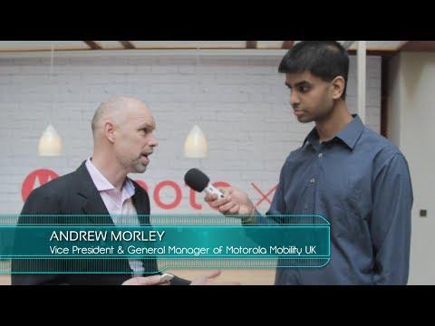Uncut Interview with Andrew Morley, Vice President of Motorola UK + Bloopers!