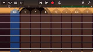 Hotel California iPhone Garageband (Intro Playing and Chords)