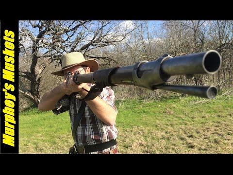 69cal Round Ball vs. Minie Ball in a 1842 Rifle Musket