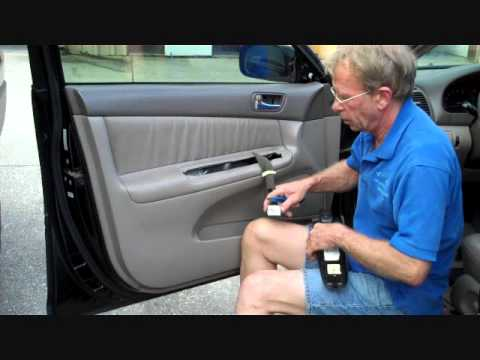 How To Toyota Camry Front Door Car Speaker Removal 2002