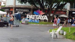 Pattaya afternoon walk around massage hotels and ladys October 2019