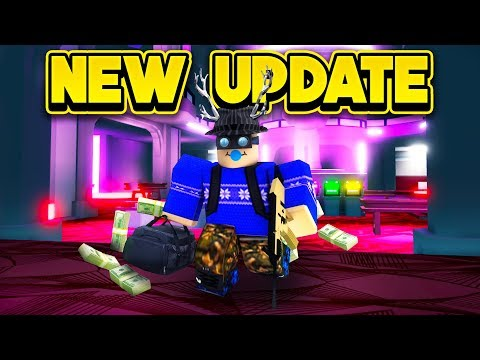 NEW CASINO & BANK ROBBERY UPDATE! (ROBLOX Mad City)