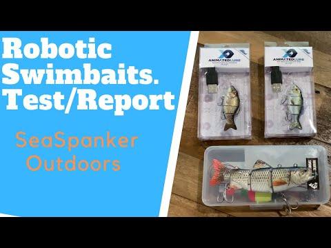 Robotic Swimbaits. Do They Actually Work?