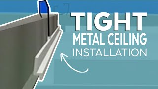 Tight Metal Ceiling Installation | Armstrong Ceiling Solutions