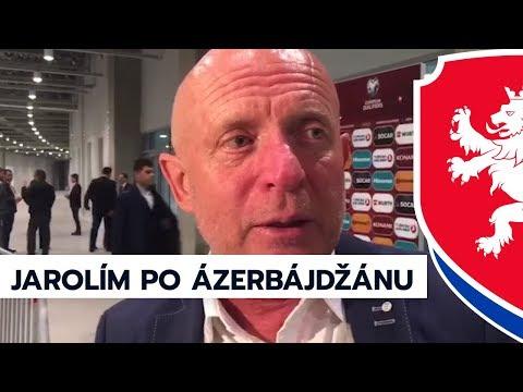 Karel Jarolím hodnotí utkání s Azerbajdžánem
