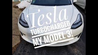 Tesla turbocharged my Model 3!!!