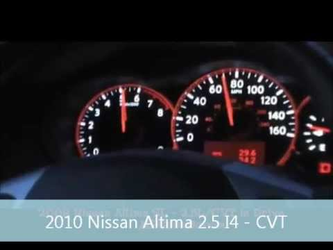 2010 nissan altima 2 5s i4 cvt 0 60 youtube. Black Bedroom Furniture Sets. Home Design Ideas