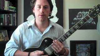 "Tool ""Vicarious"" Guitar Lesson"