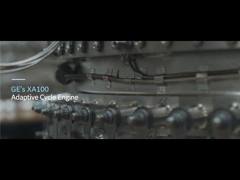 GE's XA100 Adaptive Cycle Engine