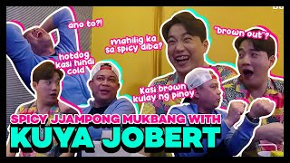 Korean Spicy Jjampong Mukbang with Kuya Jobert