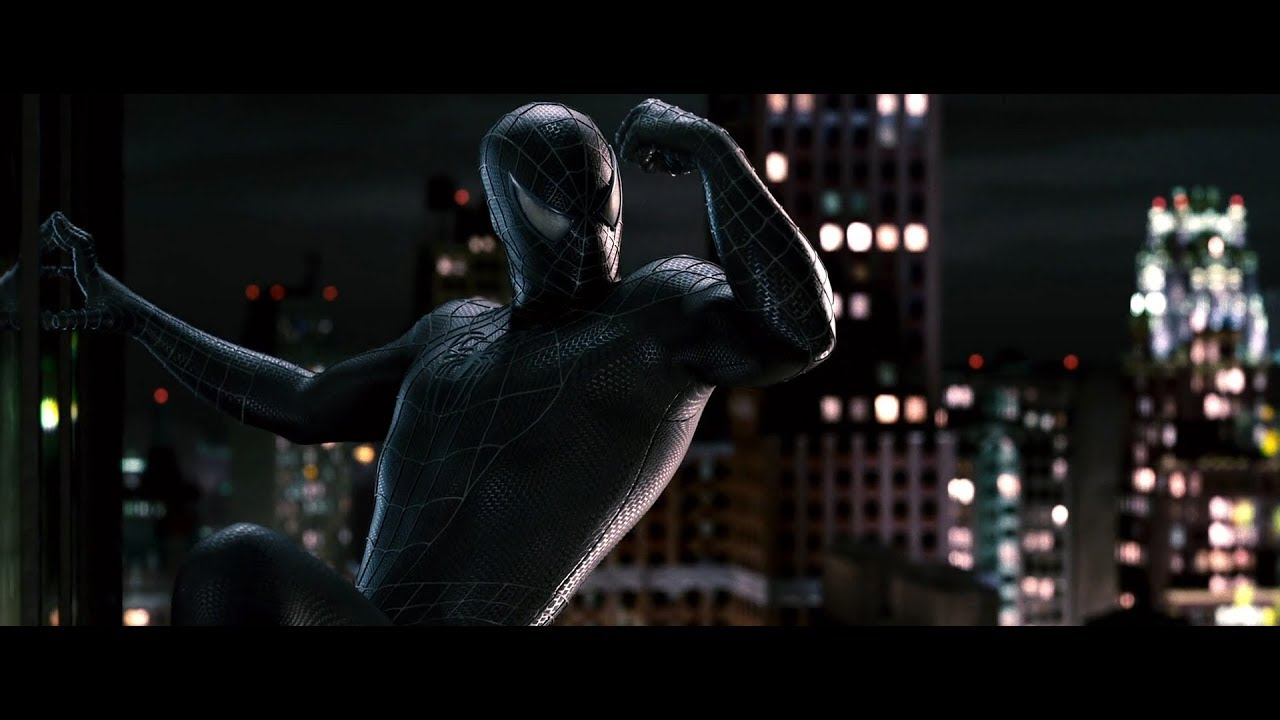 spider-man 3 ost 20. transforming to black suited spidey - youtube
