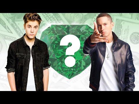 WHO'S RICHER? - Justin Bieber or Eminem? - Net Worth Revealed!
