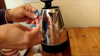 How to make tea  in Electric Kettle  in 2 mins.