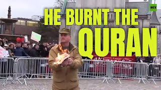 THESE EVIL PEOPLE BURNED THE QURAN IN NORWAY - RESPONSE!