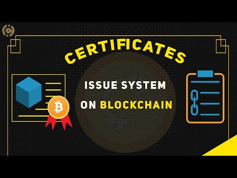 Understand Blockchain Certification System in Two Minutes - Counos X