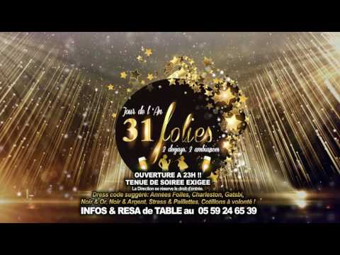 ★ Réveillon 31 Décembre 2016 / New Year Eve ★ Duplex Club Biarritz