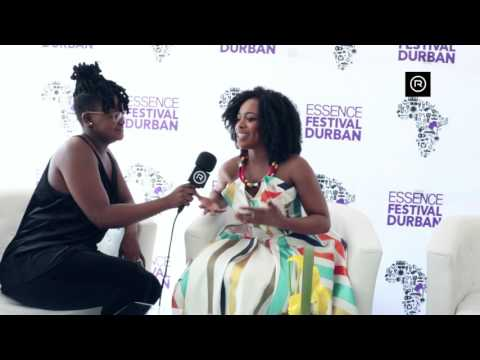 Nomzamo Mbatha excited about 2017 ESSENCE Festival Durban