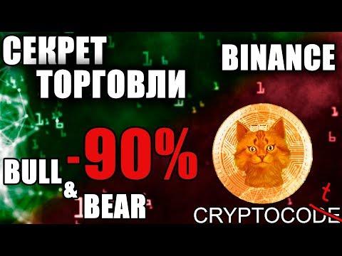 Основная ошибка в трейдинге криптовалют Bull и Bear, биржа Binance инструкция и обучение трейдингу