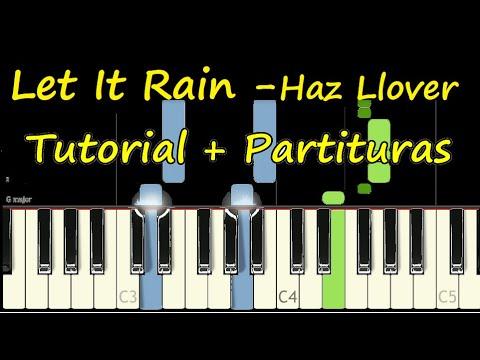 LET IT RAIN Eddie James Piano Tutorial Cover + Partitura PDF Sheet Music Easy Midi - Haz Llover thumbnail