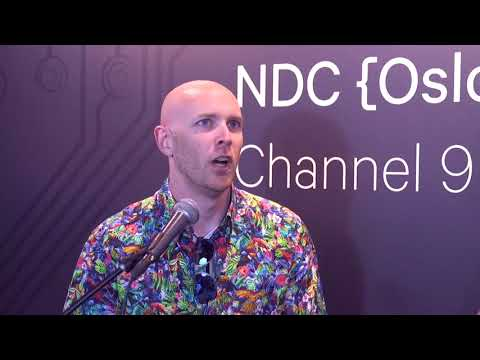 NDC Oslo 2017 Channel 9 Live interview with MVP, Chris Klug