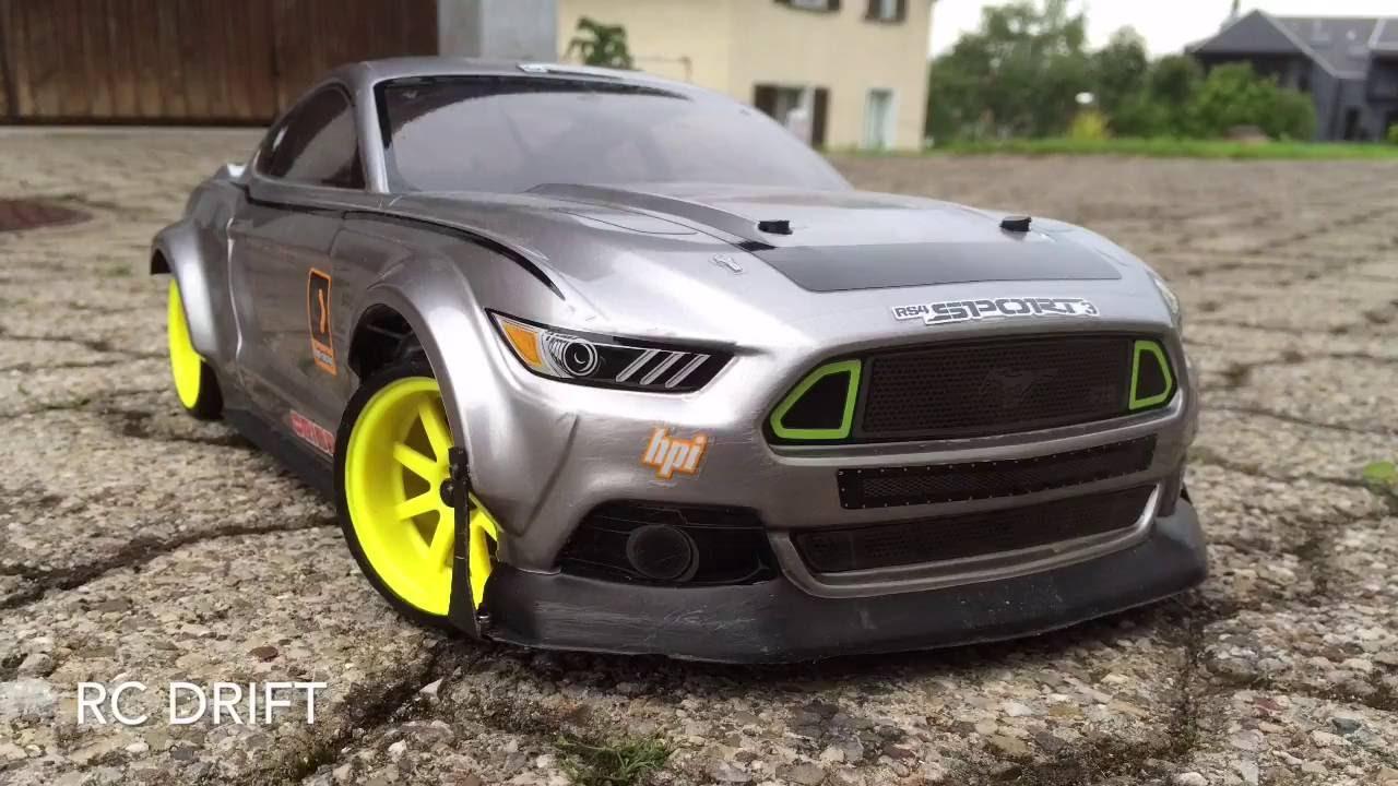 Rc Drift Mustang Youtube