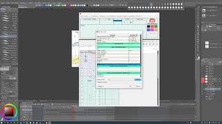 클립스튜디오 애니메이션-디지털타임시트 설정 팁  -Cl…
