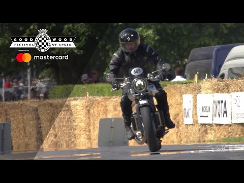 New Brough Superior makes Goodwood debut