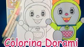 Coloring Dorami #Doraemon movies#marker color