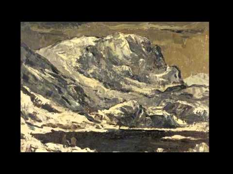 Kyffin Williams - Welsh Landscape Artist ( May 1918 to September 2006 )