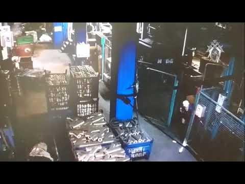 Видео с места происшествия Чугунолитейный завод. Людиново 2018