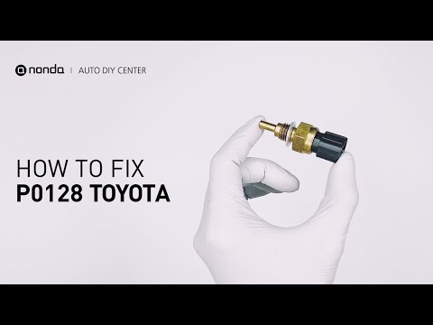 How to Fix TOYOTA P0128 Engine Code in 3 Minutes [2 DIY Methods / Only $7.34]