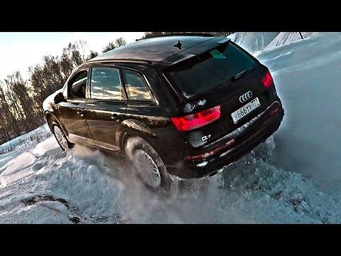 По следам Ленд Крузер 200 на КУ7!? Ауди, которая смогла. Тест драйв Audi Q7 2017